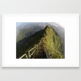 The Stairway To Heaven Framed Art Print