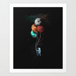 A Space Oddity Art Print