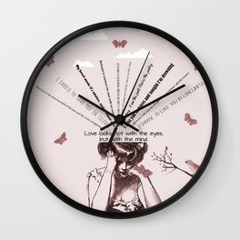 Love 4 Wall Clock