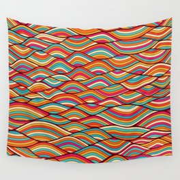 festive river Wall Tapestry