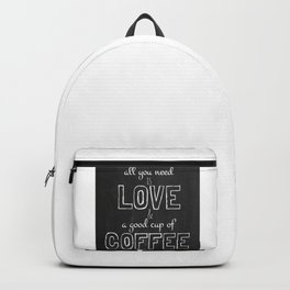 Love and coffee Backpack