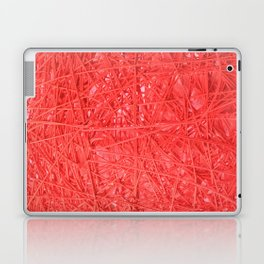 Hilo Rojo. Fashion Textures Laptop & iPad Skin