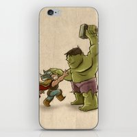 childish gambino iPhone & iPod Skins featuring Childish Heroes by TheMaddhattR