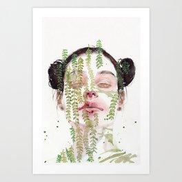 Garden IX Art Print