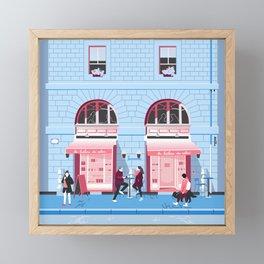 La Brûlerie du Valois Framed Mini Art Print