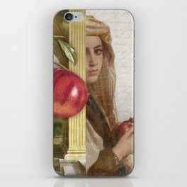 The Pomegranate Eater iPhone Skin