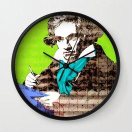 Ludwig van Beethoven 5 Wall Clock