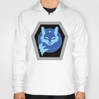 hologram Hoodies featuring Visionaries Fox by cardboardLAB
