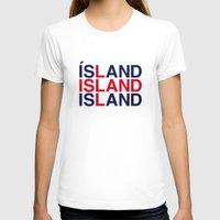 iceland T-shirts featuring ICELAND by eyesblau