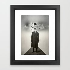 Head in the clouds I  Framed Art Print