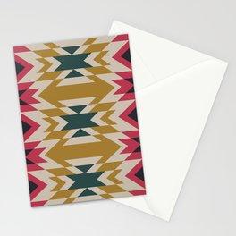 Bohemian Style Geometric Pattern Stationery Cards