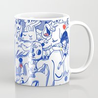 dogs Mugs featuring Dogs✧ by Natali Koromoto