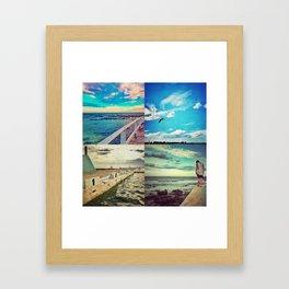 - Newcastle -  Framed Art Print