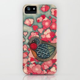 Blossom Birds iPhone Case