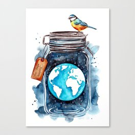Our Planet Canvas Print