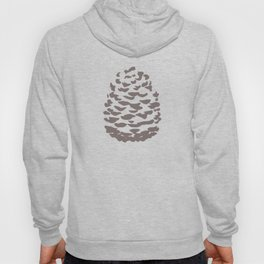 Pinecone Taupe Brown Hoody