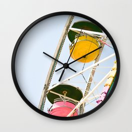 Carefree Summer of Love Wall Clock