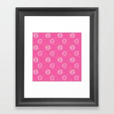 Pom Poms Framed Art Print