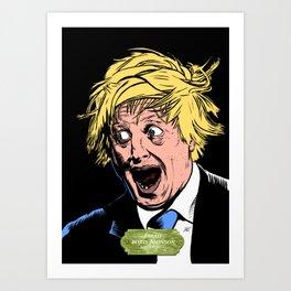 Boris! Art Print