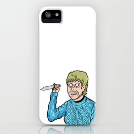 Pamela Voorhees iPhone Case