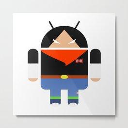 Android 17 Metal Print