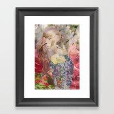 Vine Girl Framed Art Print