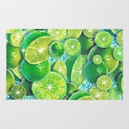 Lime Time Rug