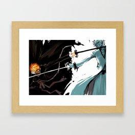 Dual Kurosaki Ichigo Framed Art Print