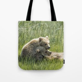 I Got Your Back - Bear Cubs, No. 4 Tote Bag