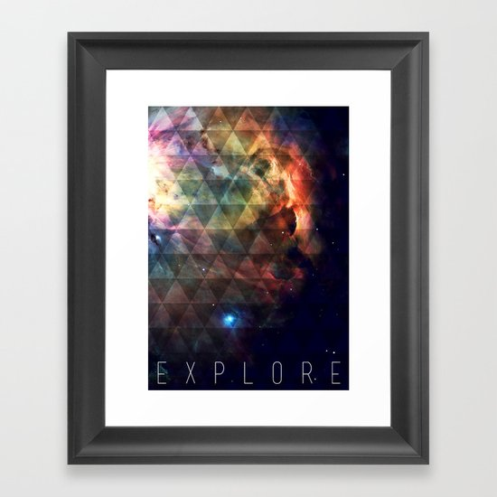 Explore II Framed Art Print