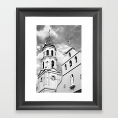 Cathedral Basilica of St. Augustine Framed Art Print