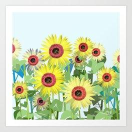 A sunny day lb. Art Print