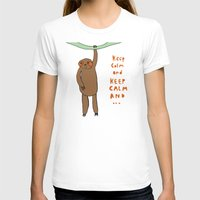 sloth T-shirts featuring Sloth by Lovisa Valentino