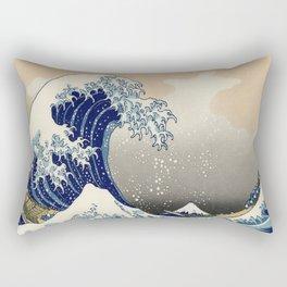 A Grande Onda Rectangular Pillow