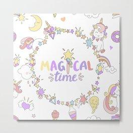 Magical Time Metal Print