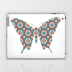 BUTTERFLY SILHOUETTE WITH PATTERN Laptop & iPad Skin