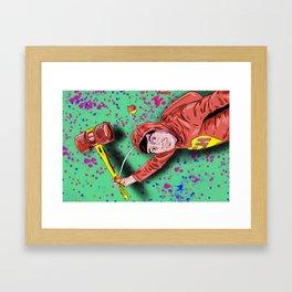 El Chapulín Colorado Framed Art Print