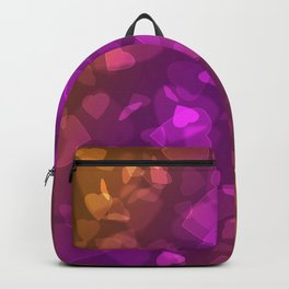 A million hearts . Bokeh . Backpack
