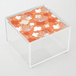 Spring Garden M+M Tangerine by Friztin Acrylic Box