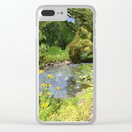 Pearl S Buck Front Garden Clear iPhone Case