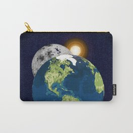 Earth Moon and Sun Carry-All Pouch