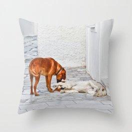 Good Morning My Dear! Throw Pillow