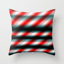 Candy Cane Stripes 2 Throw Pillow