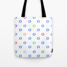 Watery Specks Tote Bag