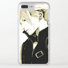 Cloud Strife Final Fantasy 7 Clear iPhone Case