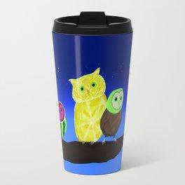 Fruit Owls Travel Mug