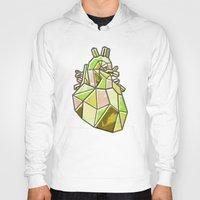anatomical heart Hoodies featuring Anatomical Heart by Jonny Ashcroft