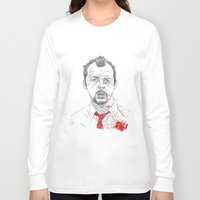 shaun of the dead Long Sleeve T-shirts featuring Shaun of the Dead by Andy Christofi