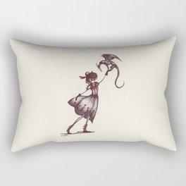 The Dragon Lady Rectangular Pillow