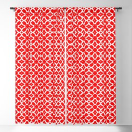 Candy Cane Pattern 2 Blackout Curtain